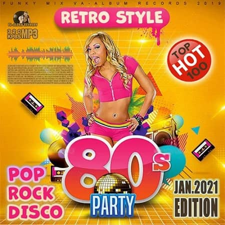 Party Retro Hits 80s (2021) MP3