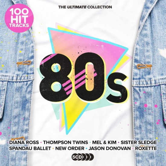 100 Hit Tracks The Ultimate 80s (2021) MP3